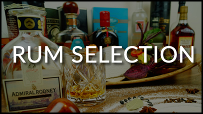 Spiced Roots Rum Selection
